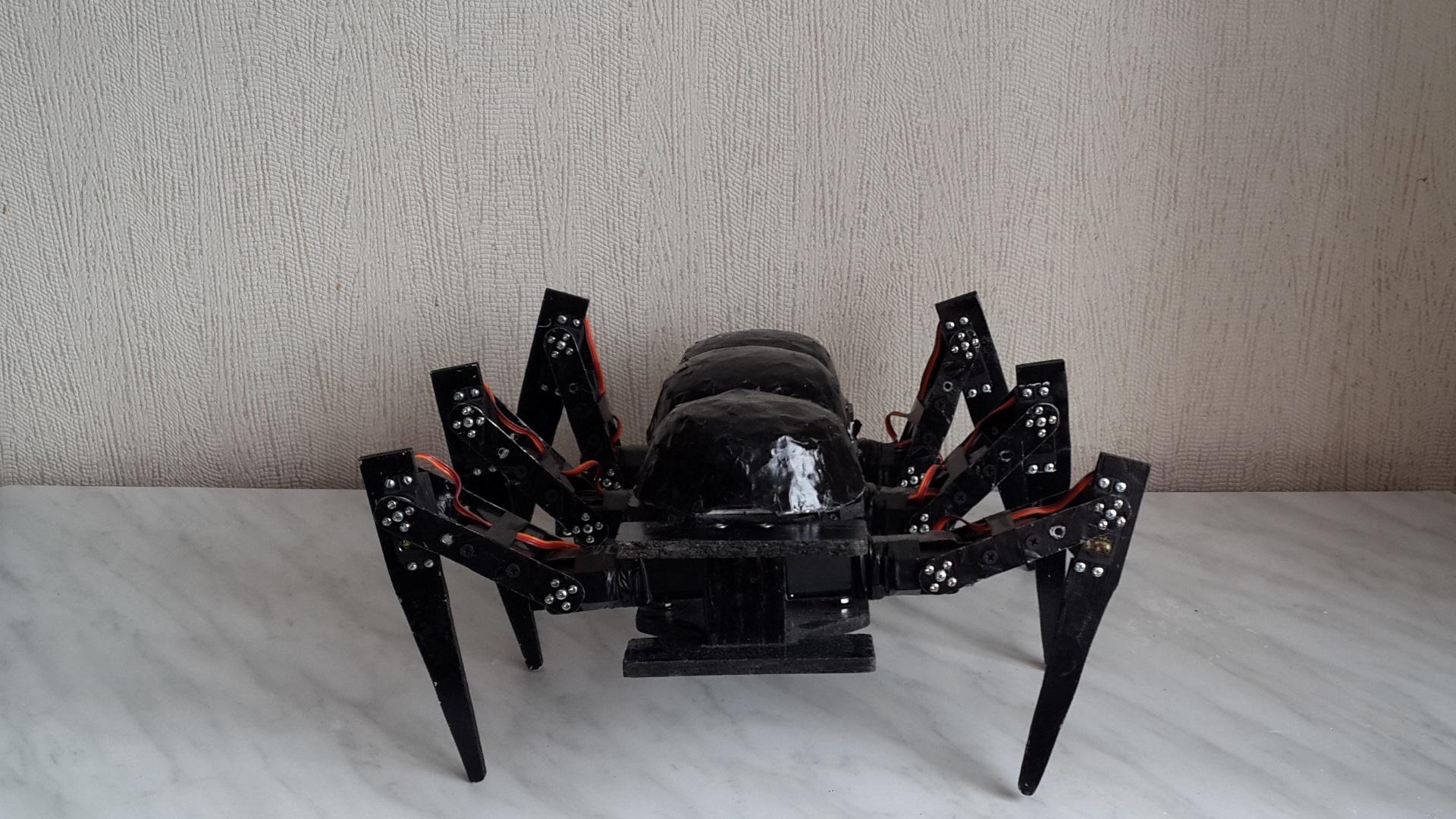 Робот-муравей: Разработка и сборка