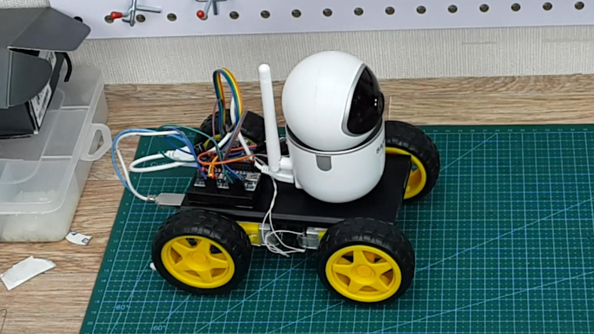 Машинка на радиоуправлении с видеокамерой