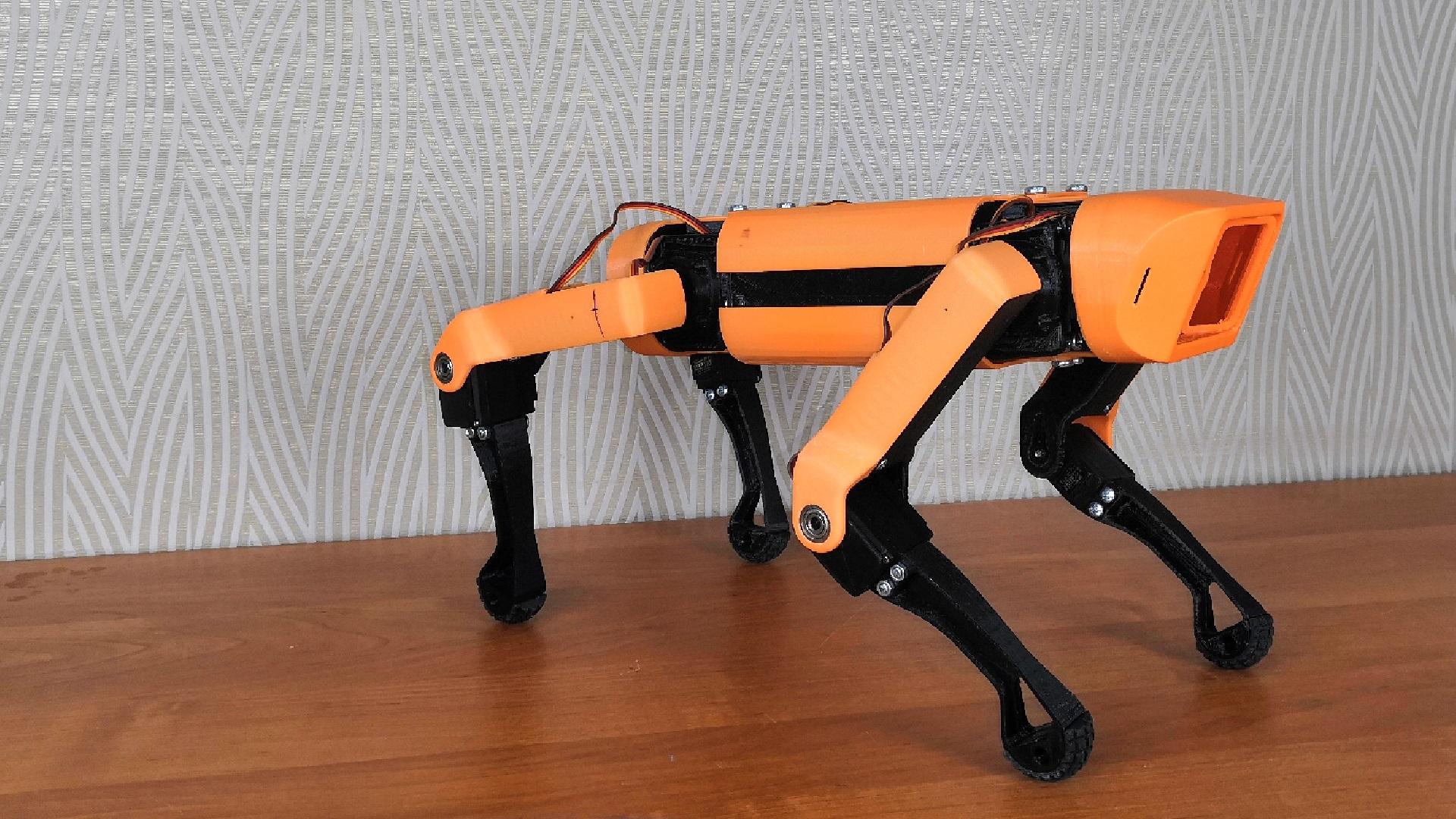 Робот-собака. Первые шаги